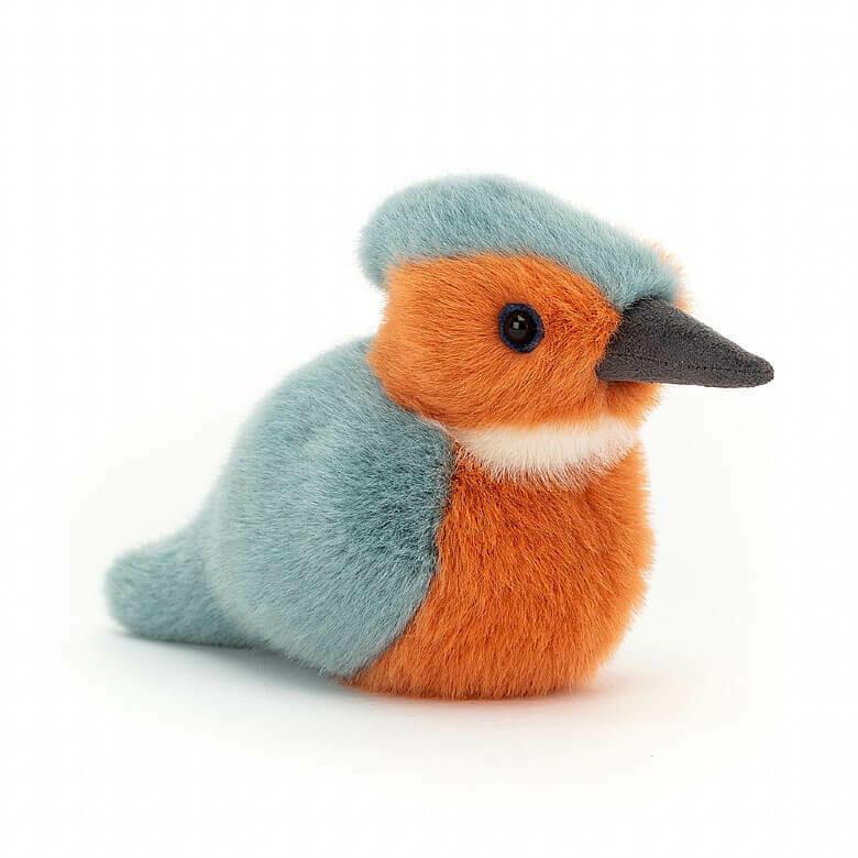 Jellycat Birdling Kingfisher - $12