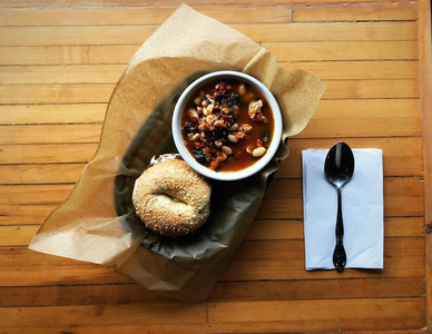 Crickets Coffee Co. Bagel & Soup