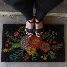 Goldenbloom Doormat - $26