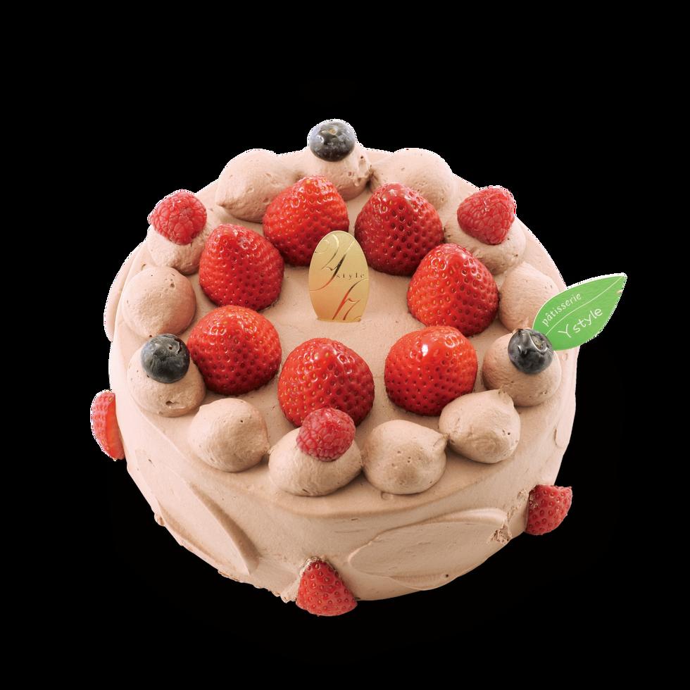 苺の生チョコバースデー