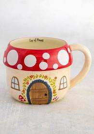 Mushroom House Mug - $16.99