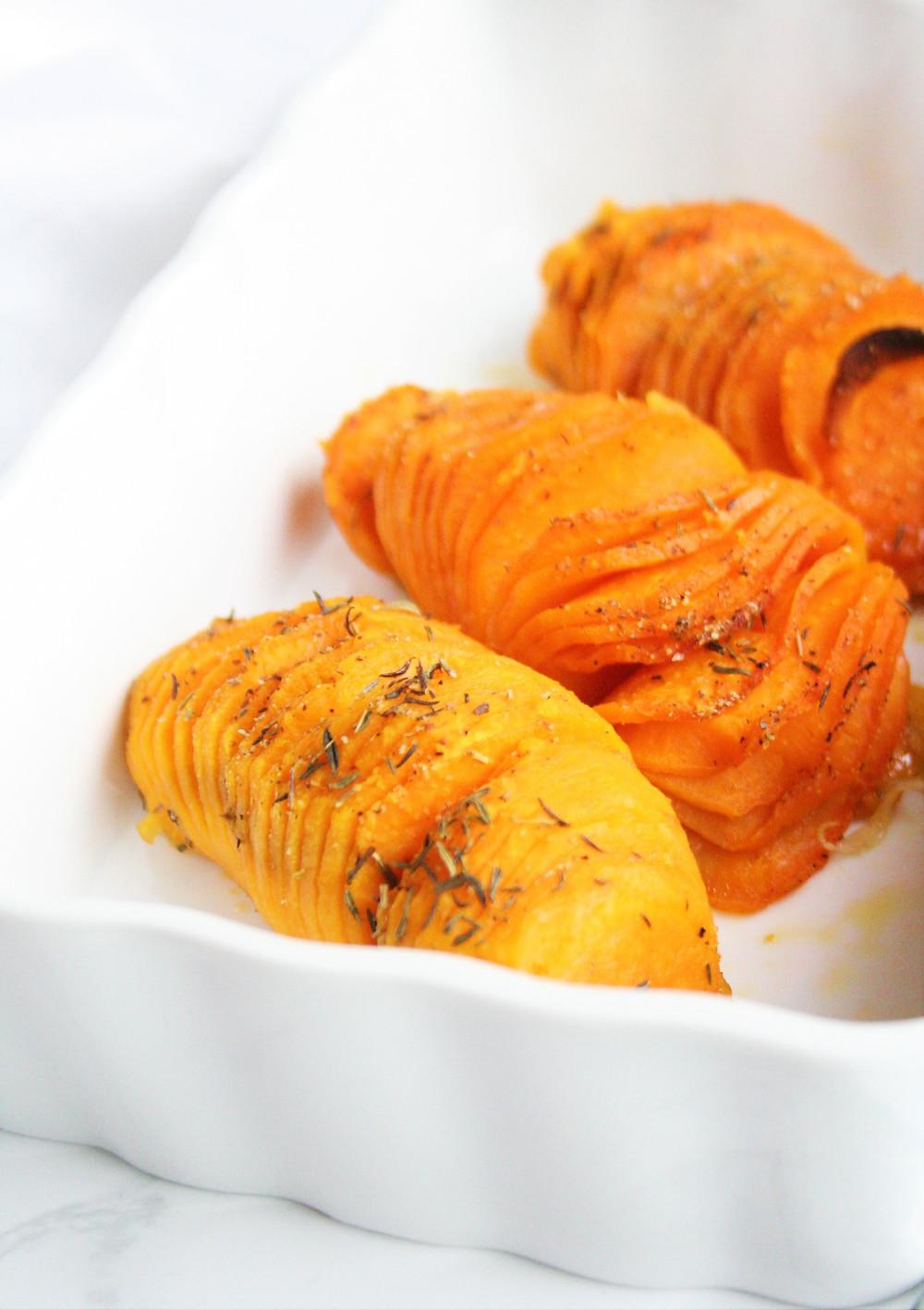 Gekruide aardappelen uit de oven