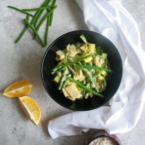 Groene curry met jackfruit