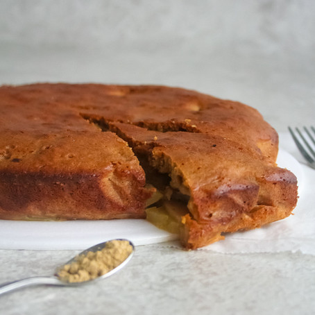 Peren-kardemom cake