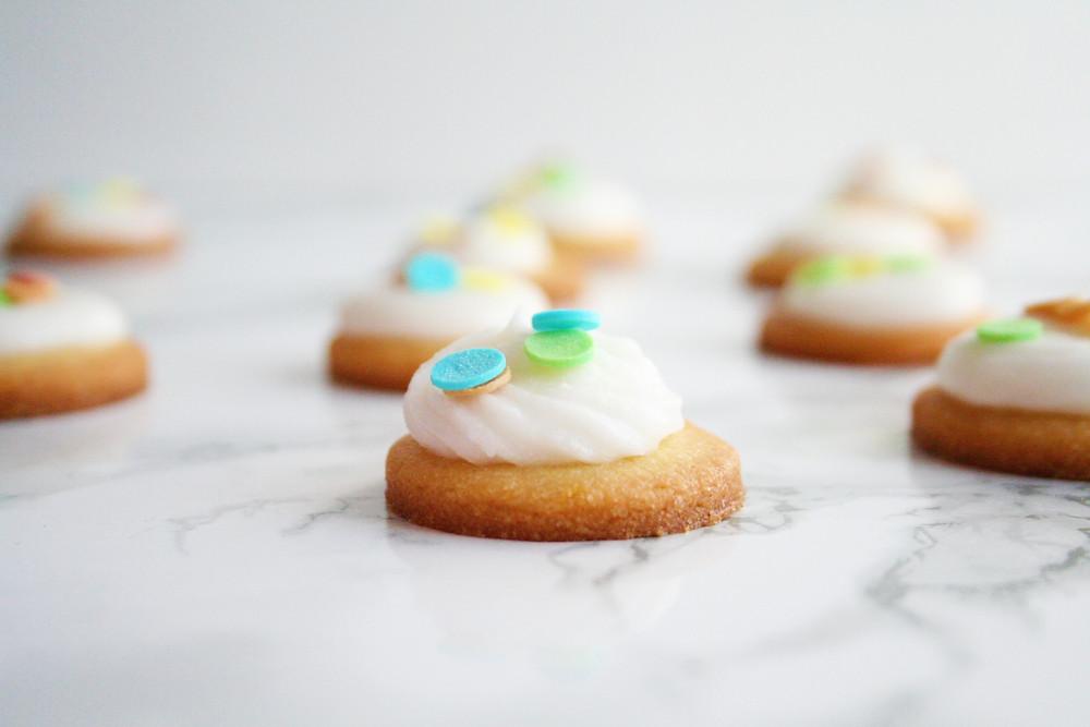 Vegan paaskoekjes met crème