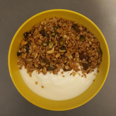Herfst granola