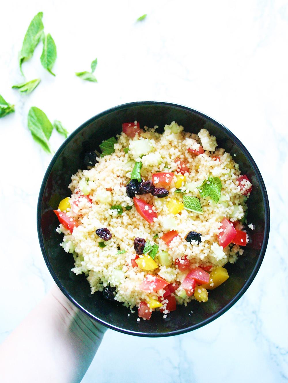 Frisse salade uit de Provence