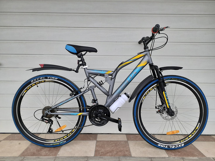 Helux 26 silver-blue-yellow
