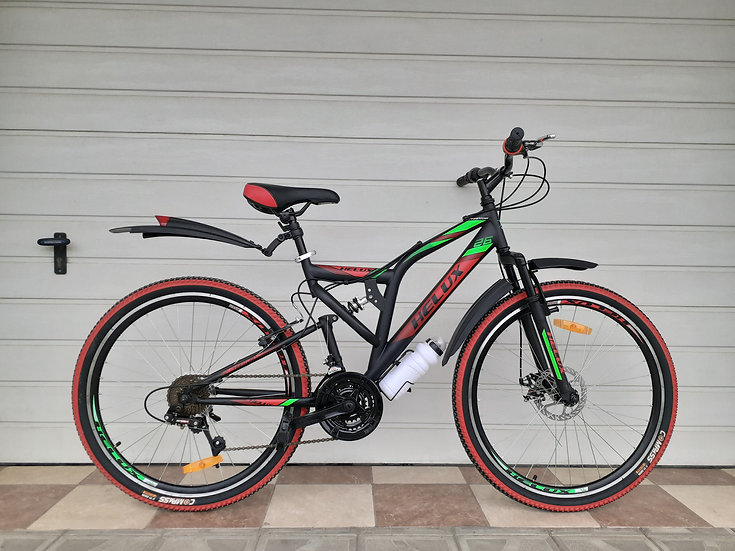 Helux 26 black-red-green