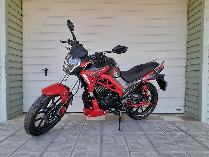 Mototcicleta SENKE 200E
