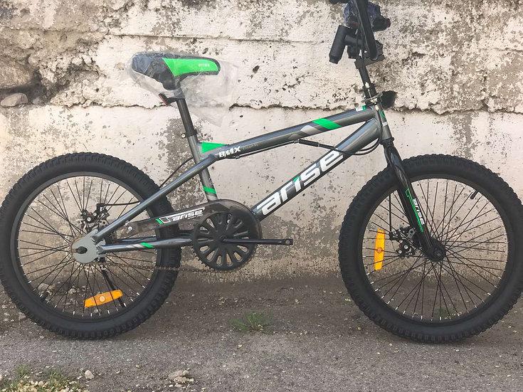 BMX Expert XL silver-green
