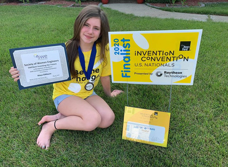 Hamden Student Wins National Awards for Invention