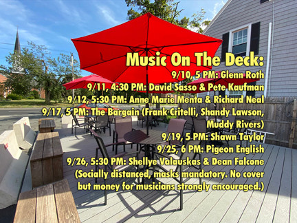 Live Music returns to Best Video on New Outdoor Deck