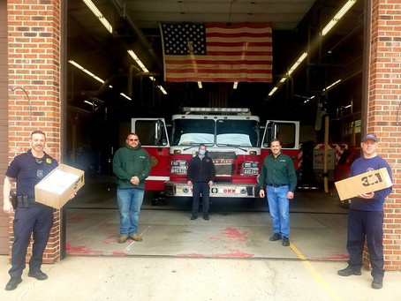 Litchfield Builders Donate Masks to First Responders