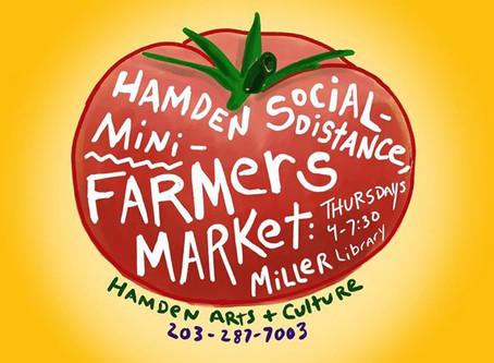 (Via New Haven Independent) Hamden Farmers Market Returns