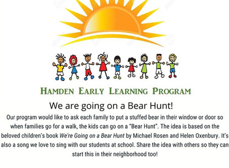 Going on a Bear Hunt!