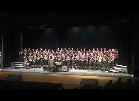 Hamden Middle School Students Wow in a Virtual Concert