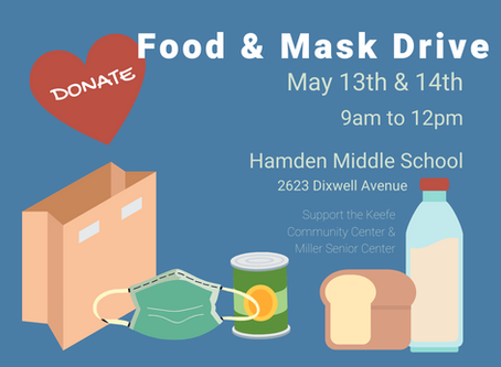Food and Cloth Mask Donation Drive