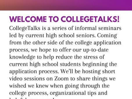 Hamden High Seniors to Host College Talks via Zoom
