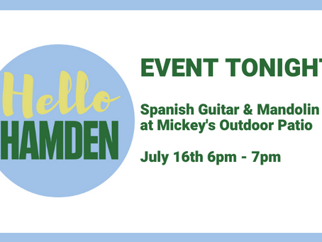 Spanish Guitar & Mandolin Duo Tonight (July 16th) at Mickey's