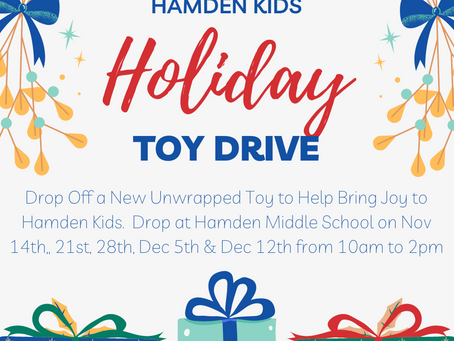 Hamden Kids Holiday Toy Drive