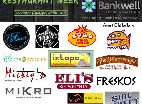 Celebrate Hamden Restaurants: Hamden Restaurant Week