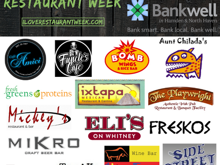 Celebrate Hamden Restaurants: Hamden Restaurant Week