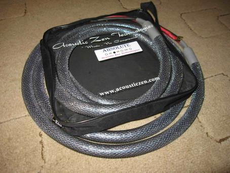 Acoustic Zen Absolute Speaker cables VS Hidiamond D 8 Speaker cable
