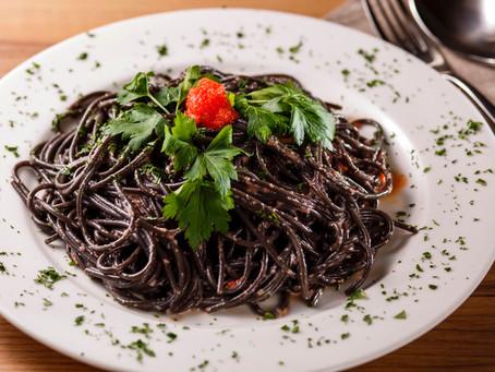 当店名物!真っ黒なスパゲッティ…