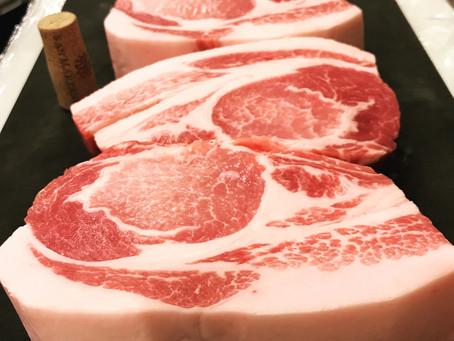 茨城県産愛情豚ロース肉!