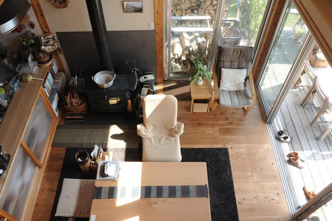 小さな森暮らしの家