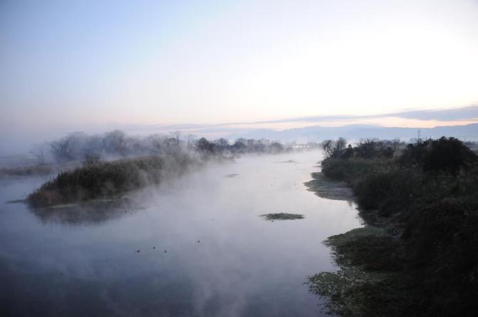 「朝霧」と「朝靄」の違い
