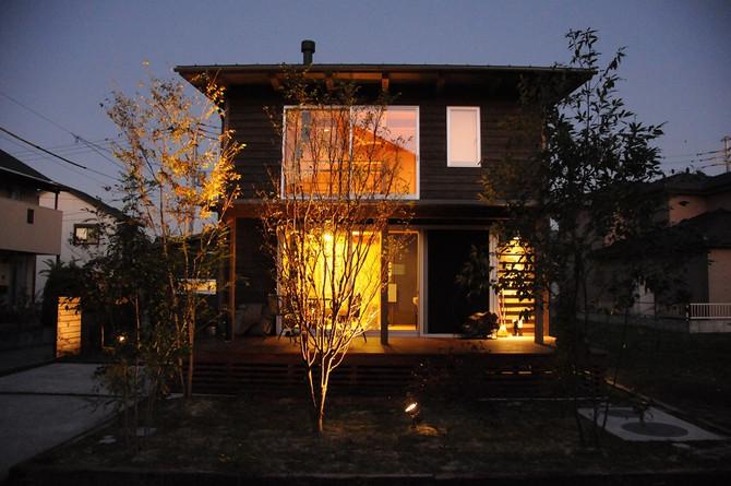 民泊で木の家を体感