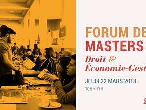 Retrouvez le M2DAN au forum des masters le 22 mars 2018 !