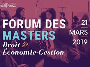 Forum des Masters à Malakoff : le 21 mars 2019 venez rencontrer les M2DAN !