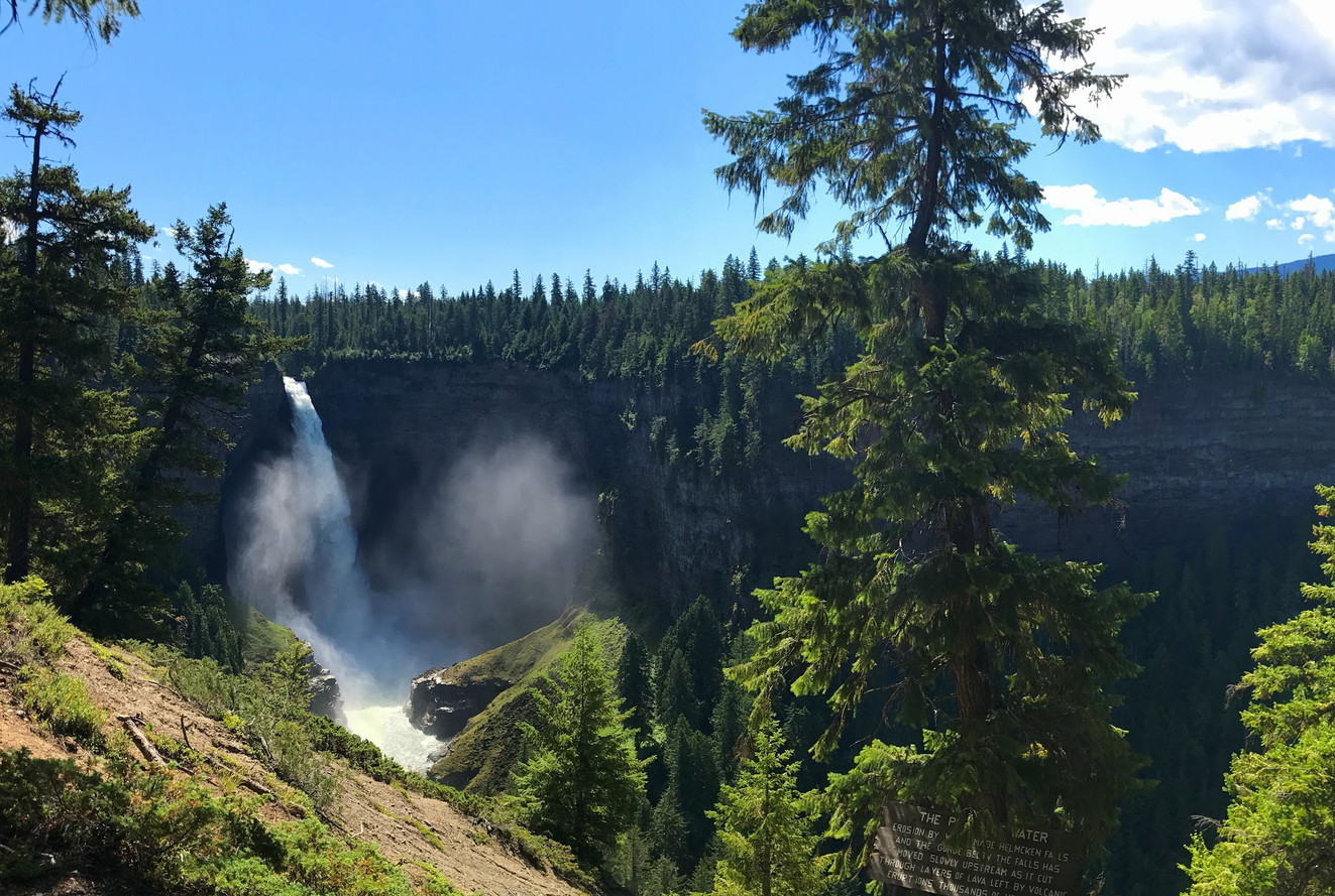 Helmcken Falls, Clearwater