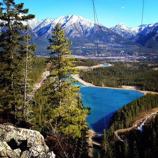 Vista over Canmore