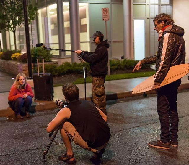 We shot a comedy, we swear! #Sad #WetAnd