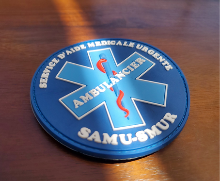 Patch PVC Ambulancier
