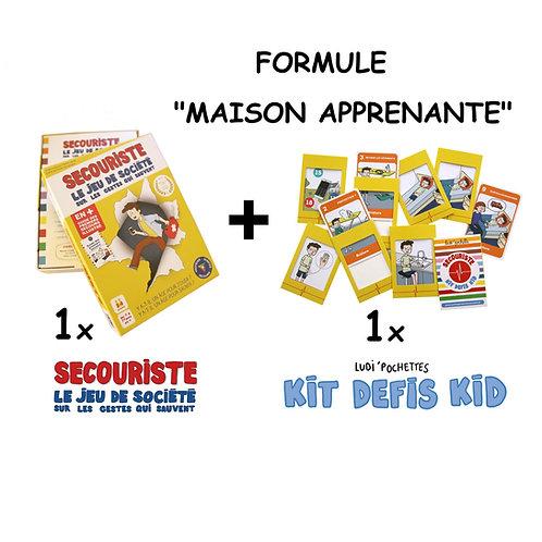 """Jeux Secouriste (formule """"maison apprenante"""")"""
