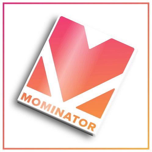 Mominator Clear Sticker