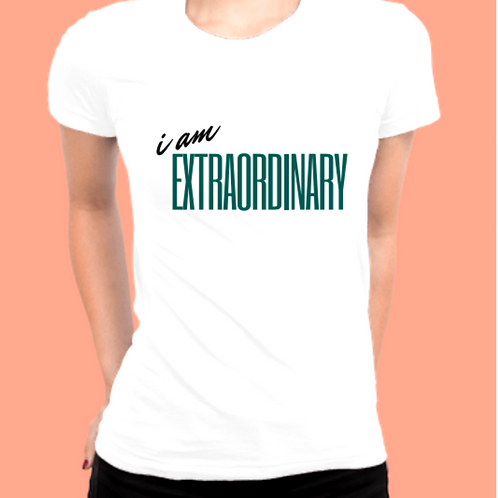Custom Be Extra Women's Fitted T-Shirt