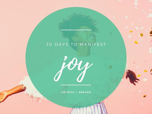 30 Days of Joy Affirmations