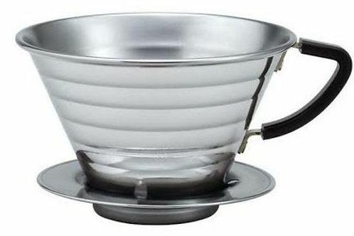 Coador de Café Wave KALITA Prata Até 4 Xícaras
