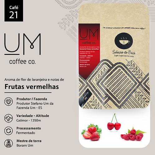Café 21 - Um coffee  - Sensorial Frutas Vermelhas - 100g
