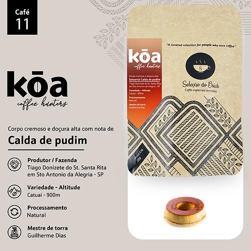 Café 11 - Koa - Sensorial Calda de Pudim - 100g