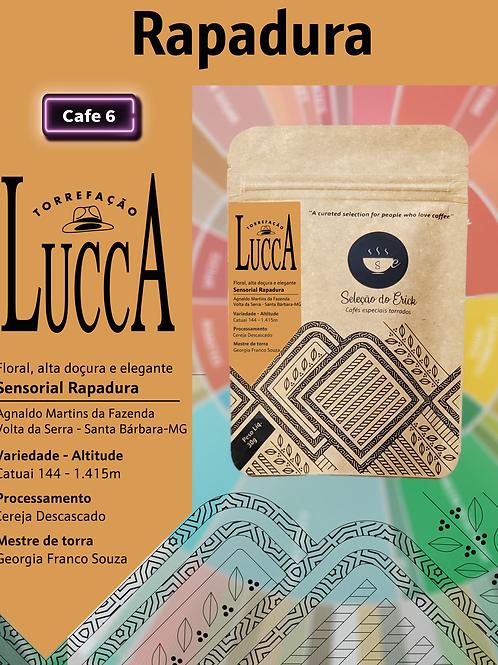 Lucca - Sensorial Rapadura - 100g