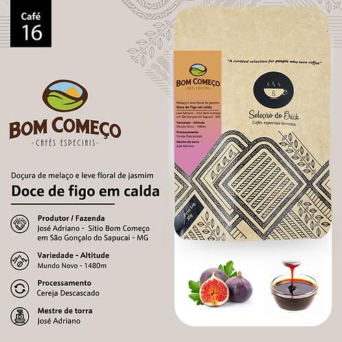 Café 16 - Produtor Bom começo - Sensorial Doce de Figo - 100g