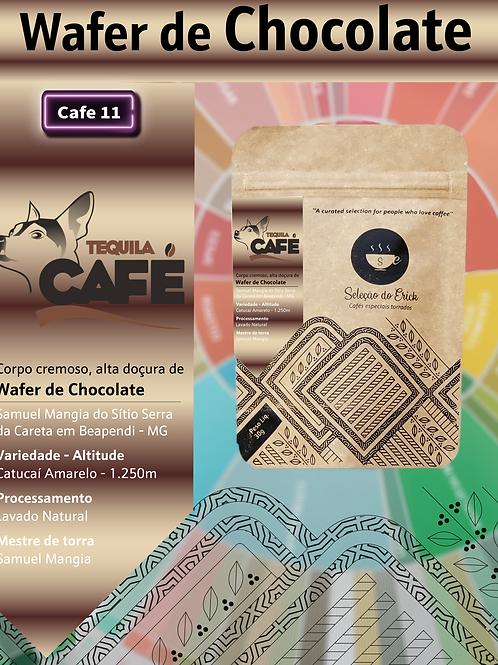 Tequila cafe - Sensorial Wafer de chocolate - 100g