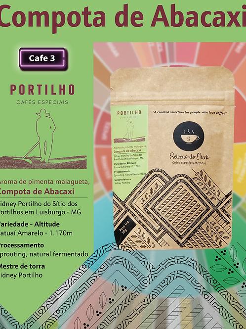 Portilho - Sensorial compota de abacaxi - 100g